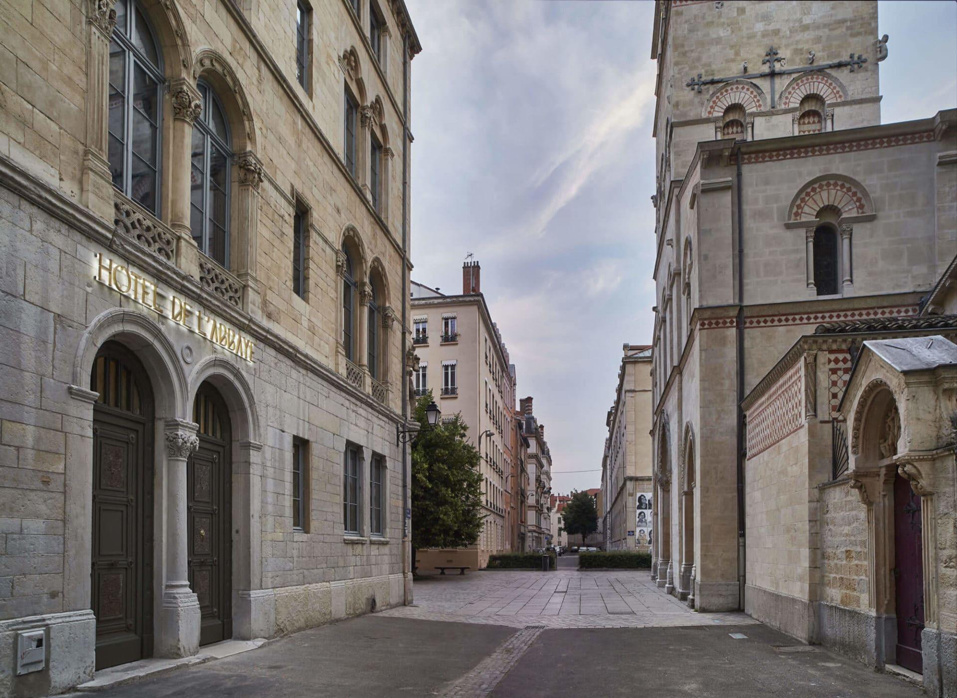 Le quartier d'Ainay à Lyon 2